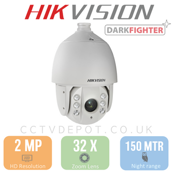 Hikvision PRO PTZ HD TVi Series with 32X Zoom and 150metre IR
