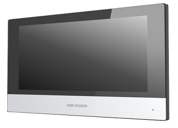 """HIKVISION DS-KH6320-WTE1 Hikvision video intercom indoor station with 7"""" touch screen"""