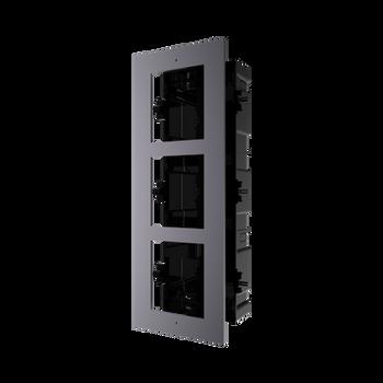 HIKVISION DS-KD-ACF3/PLASTIC 3 way flush mounting bracket