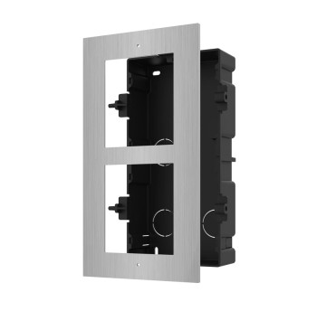 HIKVISION DS-KD-ACF2/S 2 way stainless steel flush mounting bracket