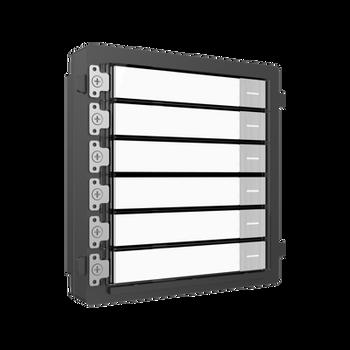 HIKVISION DS-KD-KK/S  stainless steel video intercom nametag module