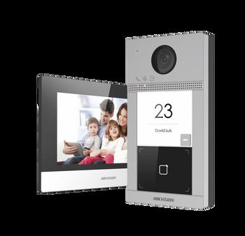 HIKVSION DS-KIS604-P video intercom villa door station kit