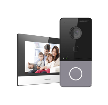 HIKVISION DS-KIS603-P(B) video intercom villa door station kit