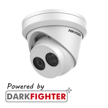 HIKVISION DS-2CD2345FWD-I 4MP fixed lens Darkfighter turret camera with IR