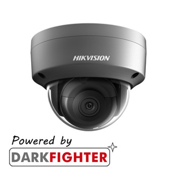HIKVISION DS-2CD2145FWD-I/GREY 2.8MM 4MP fixed lens internal Darkfighter dome camera with IR