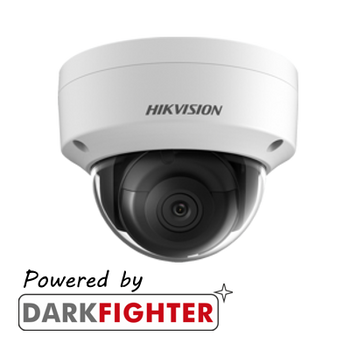 HIKVISION DS-2CD2165G0-IS(2.8MM) 6MP fixed lens internal Darkfighter dome camera with IR