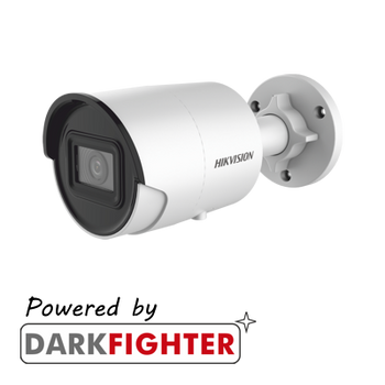 HIKVISION DS-2CD2086G2-IU AcuSense 8MP fixed lens Darkfighter bullet camera with IR & built in mic