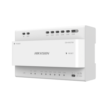 HIKVISION DS-KAD706 2-wire video/audio distributor