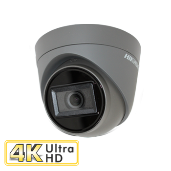 HIKVISION DS-2CE78U1T-IT3F(2.8MM)/GREY 8MP fixed lens turret camera