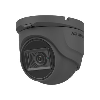 HIKVISION DS-2CE76H0T-ITMFS(2.8MM)/GREY 5MP fixed lens eyeball camera with audio