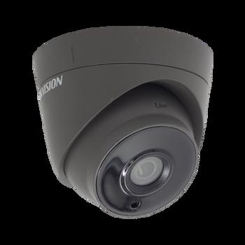 HIKVISION DS-2CE56H0T-IT3E/GREY 5MP fixed lens PoC EXIR turret camera