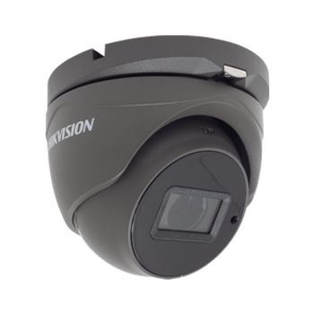 HIKVISION DS-2CE56H0T-IT3ZE/GREY 5MP motorized varifocal lens PoC turret camera