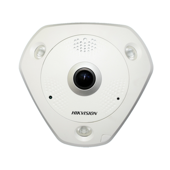 HIKVISION DS-2CD6365G0-IS 1.27MM 6MP IR fisheye network camera with built in microphone