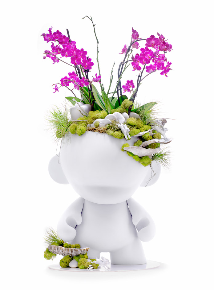 Munny Giant with Orchids - MADE TO ORDER