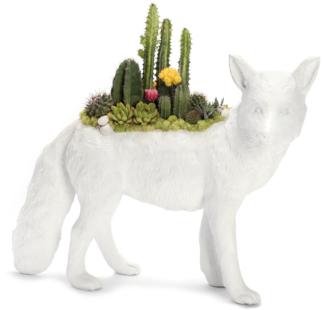 """Fox Garden ( 22"""" W x 11"""" H)"""