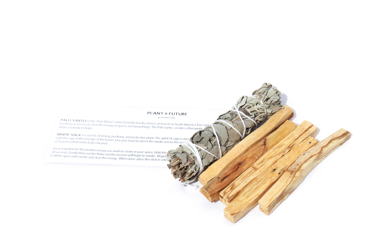Space Clearing Bundle - Palo Santo and White Sage