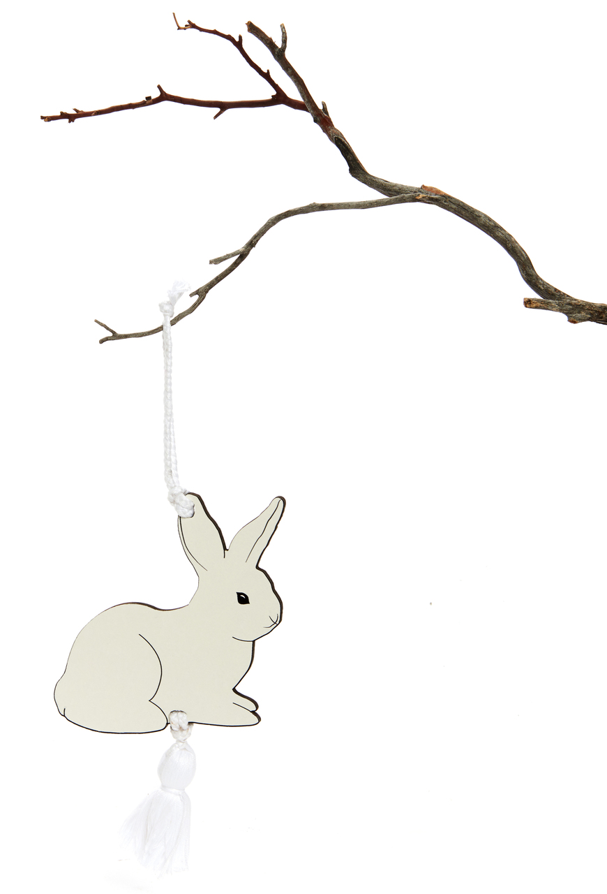 Bunny Ema - Japanese Wishing Plaque