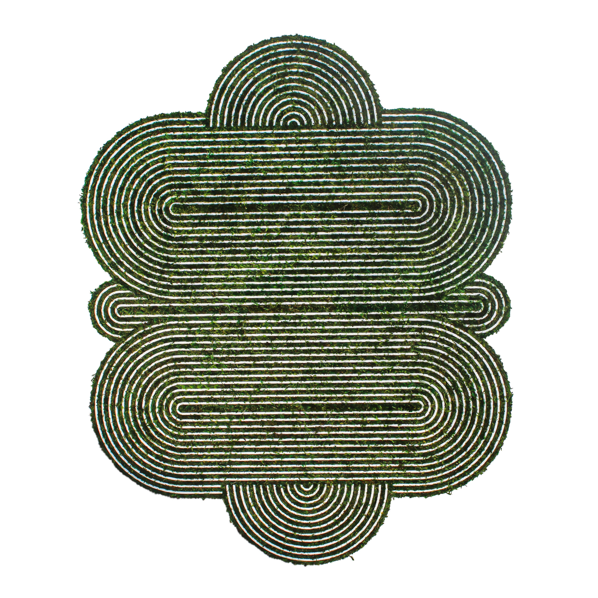 "Optical Moss Art - Divinity (61.5"" H x 49"" W)"