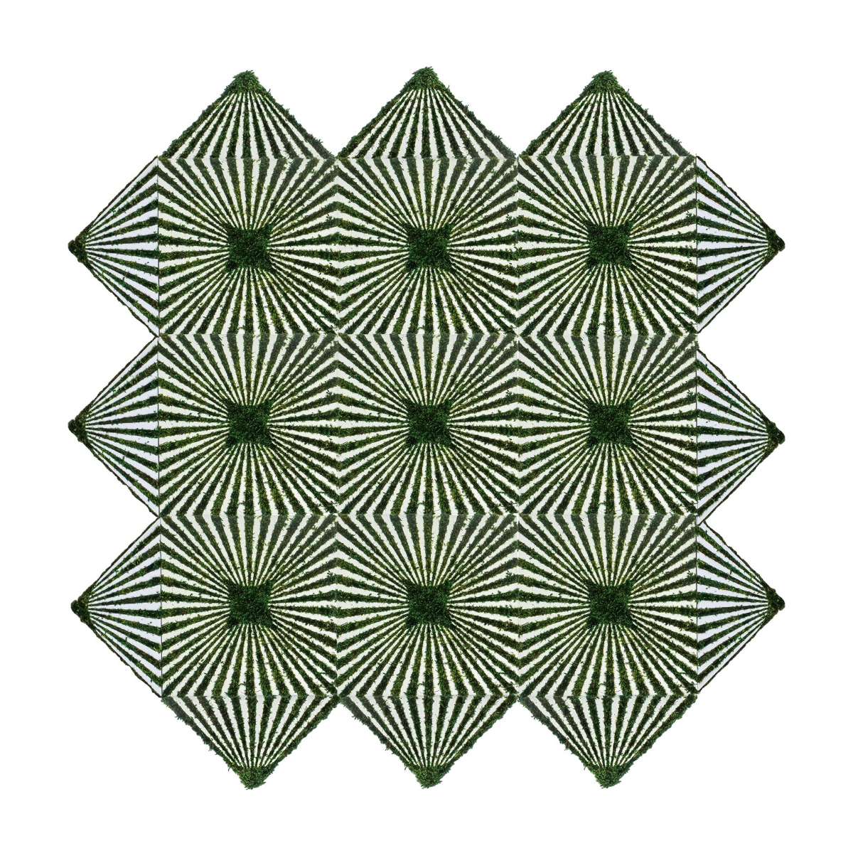 Optical Moss Tiles - Creation (Triangle)