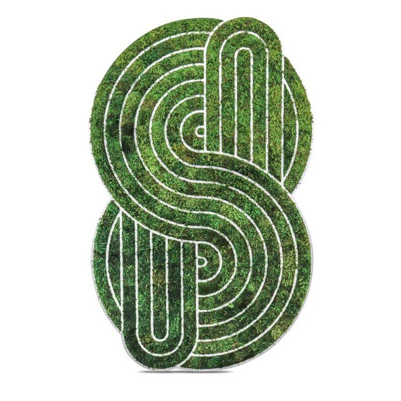 "Optical Moss Art - Supreme (73"" H x 46"" W)"