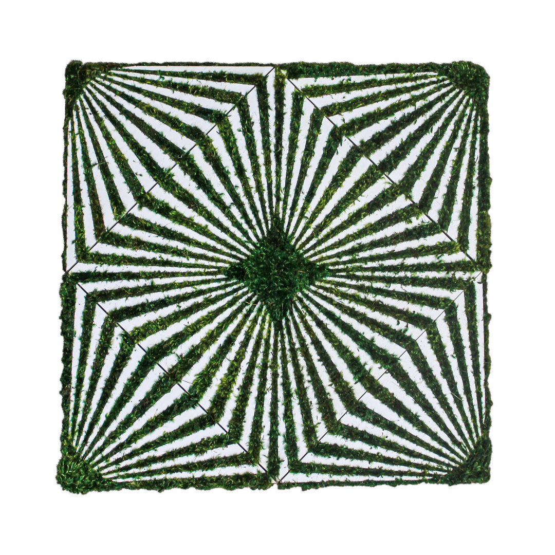"Optical Moss Art - Diamond (48"" H x 48"" W)"