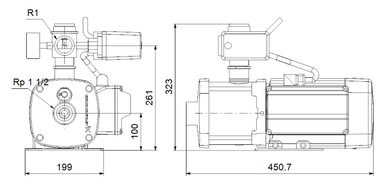 CMB 10-47 Dimensional Drawings