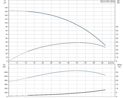 SQ 2-100 N Performance Curve