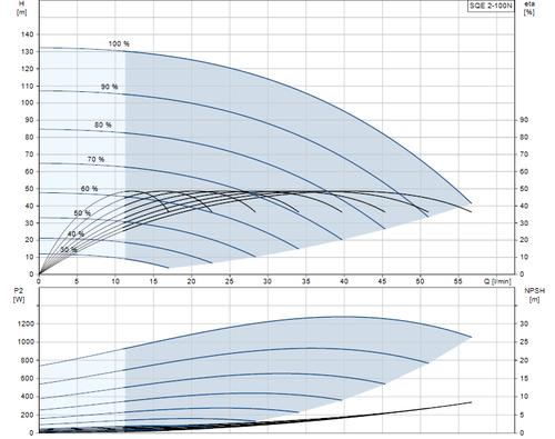 SQE 2-100 N Performance Curve