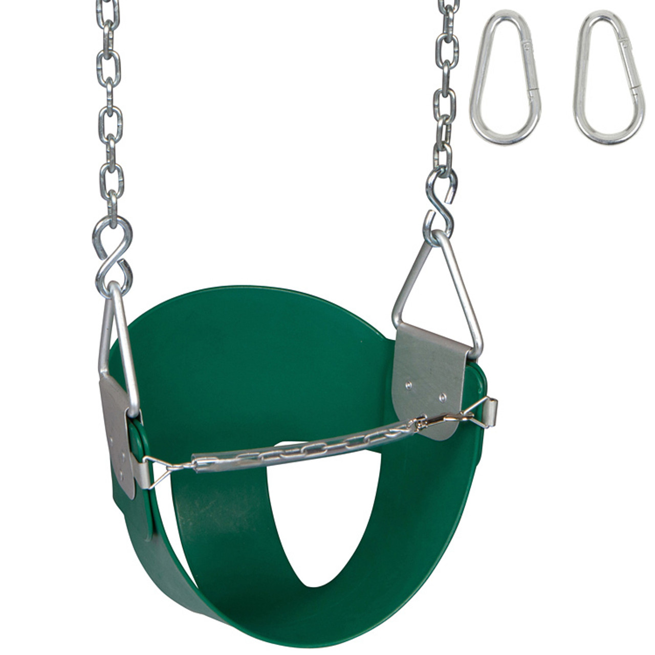 Half Bucket Swing Seat With Chains