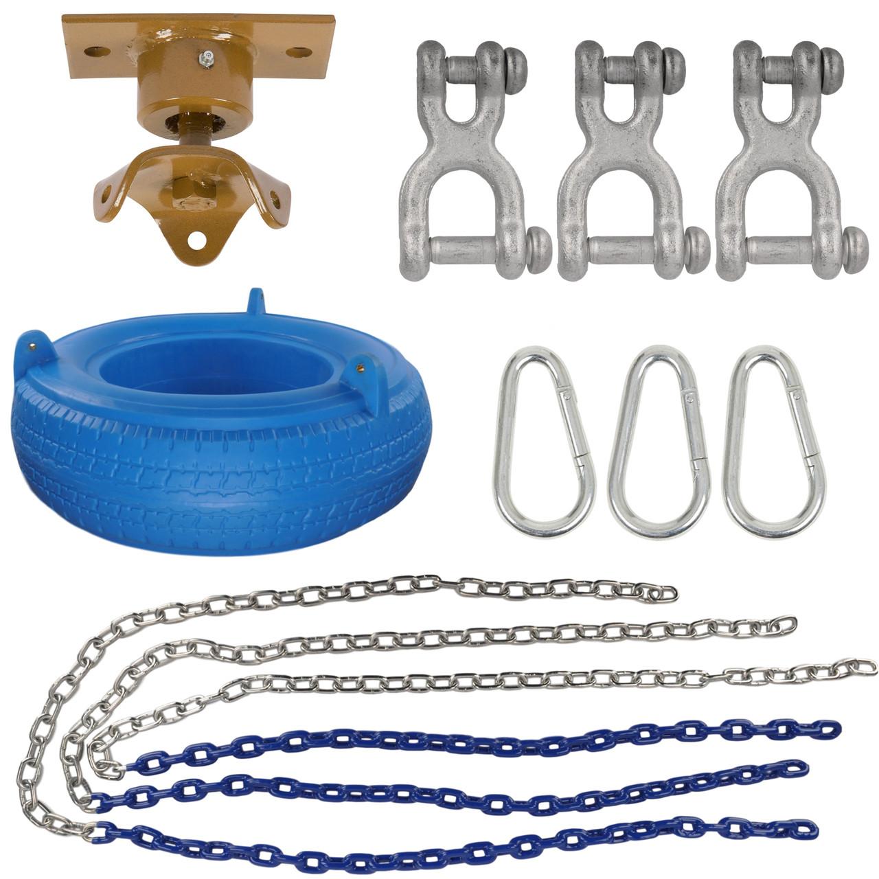 Swing Set Stuff Inc Complete Tire Swing Kit With Heavy Duty Swivel