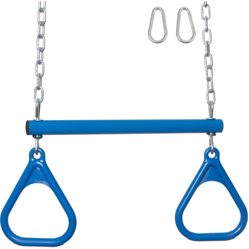 Swing Set Stuff Trapeze Rings and Chains with SSS Logo Sticker Pink