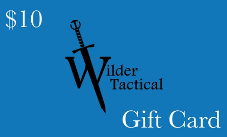 Wilder Tactical Gift Card