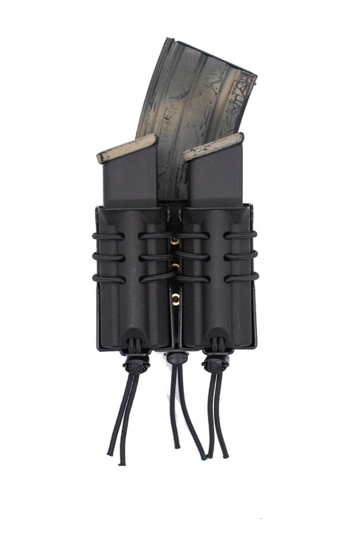 Evolution Universal Stacked AR-15/Double Pistol Magazine Pouch