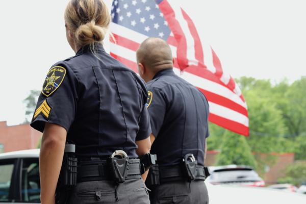 Law enforcement duty belt