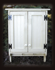 Shown in Old Cottage White with beadboard doors