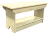 Wholesale Coffee Table/Bench | Solid Pine Bench Wholesale | In Old Cream