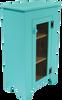 Shown in Solid Aqua with screen door