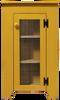 Shown in Old Mustard with screen door