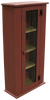 Shown in Old Burgundy with a Screen Door