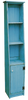 Shown in Old Turquoise with grooved door & cantback style