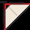 Top-Down diagram of corner hutch measurements