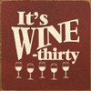 It's Wine-Thirty