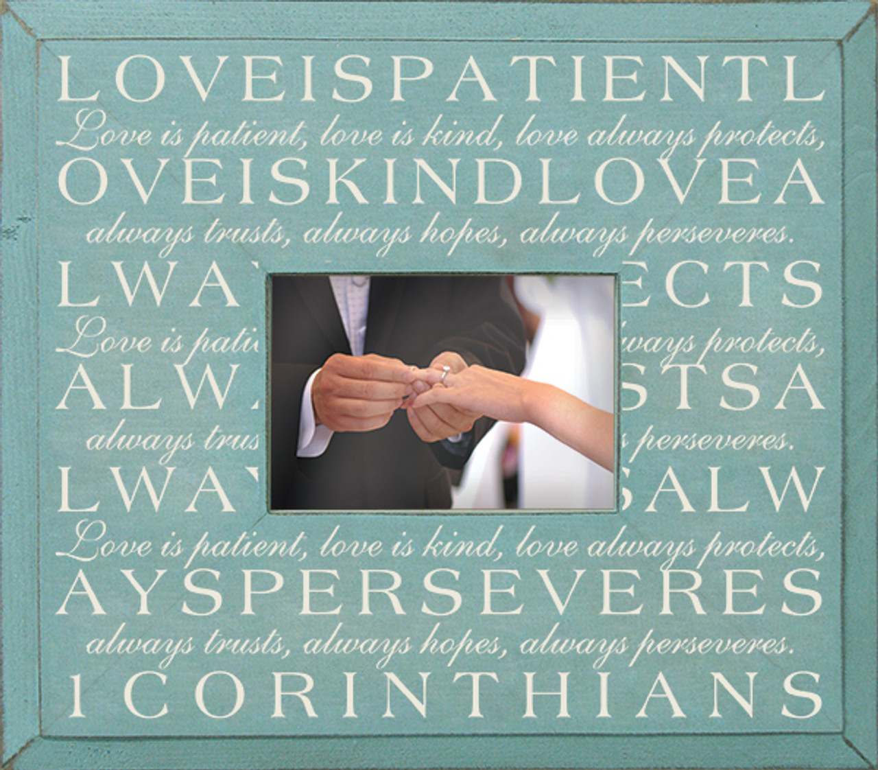 Love Is Patientfirst Corinthians Poem Sign Wood Signs