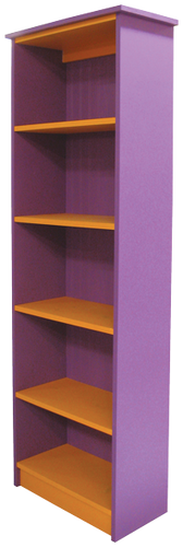 Shown in Custom paint style Solid Plum and Solid Tangerine