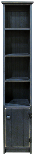Shown in Old Black with a Grooved door