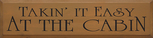 Shown in Old Toffee with Black lettering