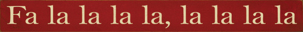 Shown in Old Red with Cream lettering