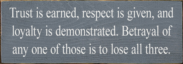 Shown in Old Slate with Cottage White lettering