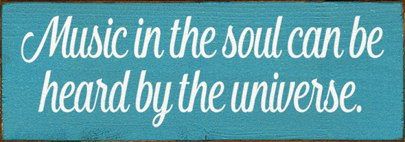 Shown in Old Turquoise with Cottage White lettering