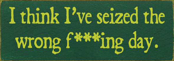 Shown in Old Green with Lemon-Lime lettering